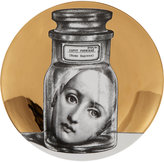 "Fornasetti Face in Jar"" Plate"