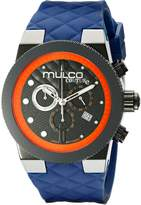 Mulco Men's MW5-2552-304 Couture Analog Display Swiss Quartz Blue Watch