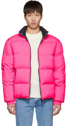 Kenzo Reversible Pink Down Jacket
