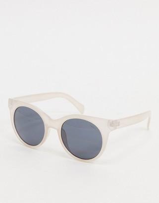 Esprit round sunglasses in beige