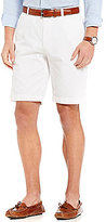 Brooks Brothers Garment-Dyed Straight-Fit Flat-Front Shorts