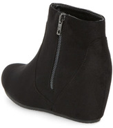Dorothy Perkins Black concealed wedge boots