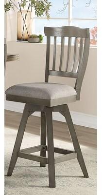 "One Allium Wayâ® Cates Bar & Counter Swivel Stool (Set of 2) One Allium WayA Seat Height: Bar Stool (30"" Seat Height)"