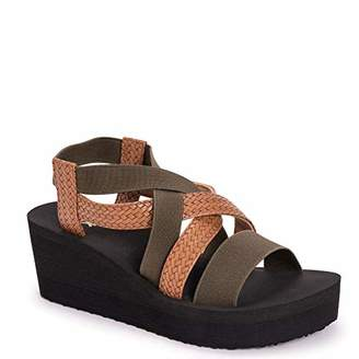 Muk Luks Women's Sabine Wedge Sandals