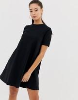 Asos Design DESIGN mini t-shirt dress with smock back