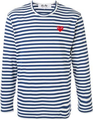 Comme des Garcons striped basic T-shirt