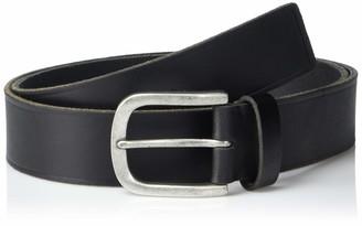 Frye Men's Heat Pressed Edge Leather Belt