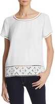 Joie Kadence Cutwork Top