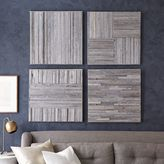 west elm Stikwood Wall Art- Set of 4