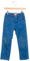 Little Marc Jacobs Girls' Straight-Leg Mid-Rise Jeans