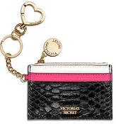 Victoria's Secret Victorias Secret Luxe Python City Card Case