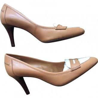 Ralph Lauren \N Beige Leather Heels