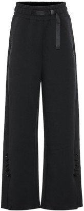 Nike High-rise wide-leg track pants