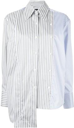 Eudon Choi Asymmetric Panelled Shirt