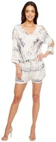 Michael Stars Shibori Print Romper Women's Jumpsuit & Rompers One Piece