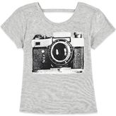 Forever 21 Girls Camera Graphic Tee (Kids)