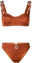 Ack - embellished bikini - women - Polyamide/Spandex/Elastane - S