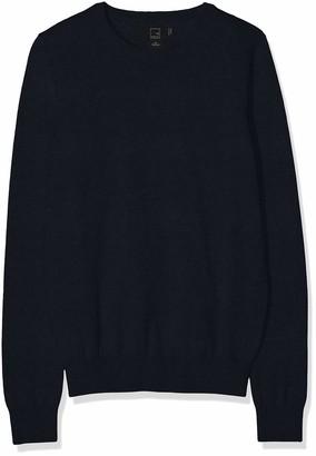 Meraki Women's Cotton Crew Neck Sweater