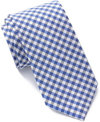 Tommy Hilfiger Dark Plaid Tie - XL