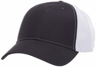 Marky G Apparel OldSchool Baseball Cap with Technical Mesh