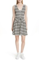 Opening Ceremony Women's Stripe Button Front Dress