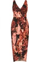 City Chic Soft Autumn Maxi Dress