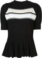 Thomas Wylde Audrey top - women - Silk/Cotton/Spandex/Elastane/Viscose - XS