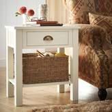 Kaleidoscope Andorra Cream Wooden End Table