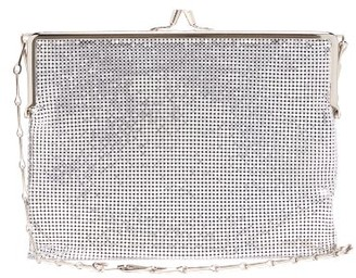 Paco Rabanne Iconic 1969 Chainmail Frame Bag - Womens - Silver