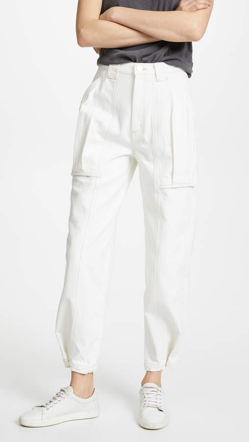 Gold Sign The Snap Utility Pants