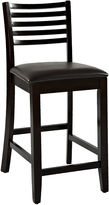 Linon Triena Ladder Barstool with Back