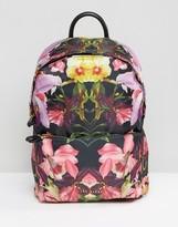 Ted Baker Floral Print Backpack