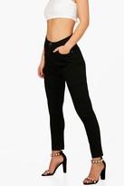 boohoo Petite Luci High Waist Skinny Jean