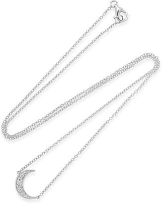 Andrea Fohrman 18k Mini Crescent Necklace