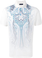 Etro printed polo top - men - Cotton - XL
