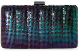 Jessica McClintock Peacock Noelle Quilted Mesh Clutch