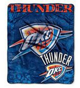 Northwest Company Oklahoma City Thunder 50x60in Plush Throw Drop Down