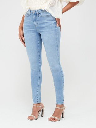 Very Florence High Rise Skinny Jeans - Light Wash