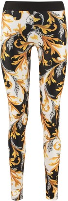 Versace Printed Techno Fabric Leggings