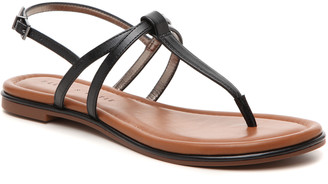 Kelly & Katie Women's Pattiee Sandals Black Size 5 Faux Leather From Sole Society
