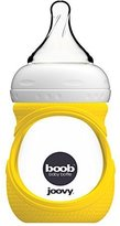 Joovy Boob Glass Bottle and Sleeve, Yellow, 5 Ounce by
