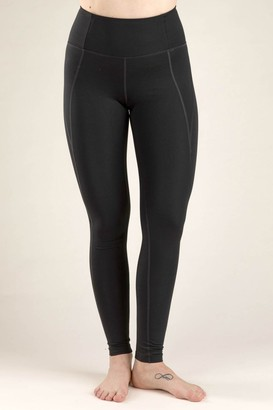 Girlfriend Collective Black Compressive High Rise Long Leggings - XSMALL