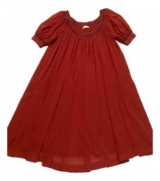 Hermes Red Cotton Dress for Women