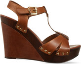 Carvela Katey leather wedge sandals