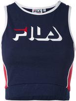 Fila printed vest top - women - Cotton/Spandex/Elastane - S