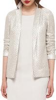 Akris Imperial St. Gallen Basketweave Jacket