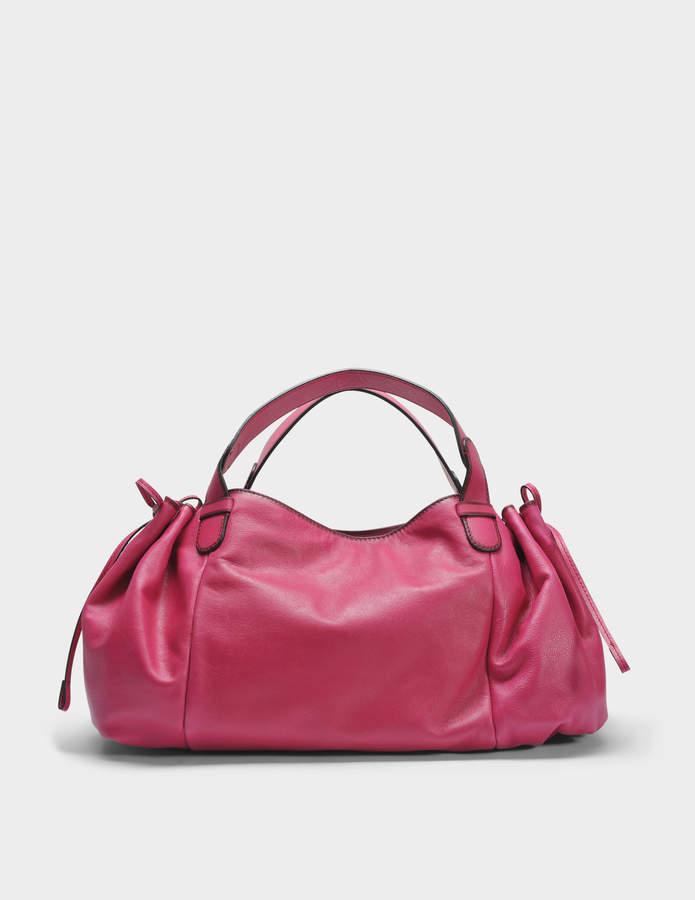 Gerard Darel 24 GD Bag in Fuchsia Leather