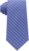 Michael Kors Men's Striped Unsolid Solid Silk Tie