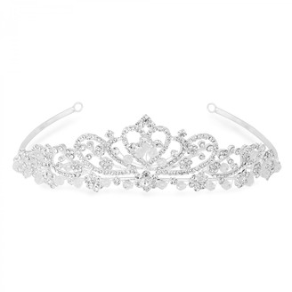 Jon Richard Jewellery Raised Diamante Tiara