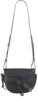 Loewe Small Gate Western Calfskin Leather Crossbody Bag